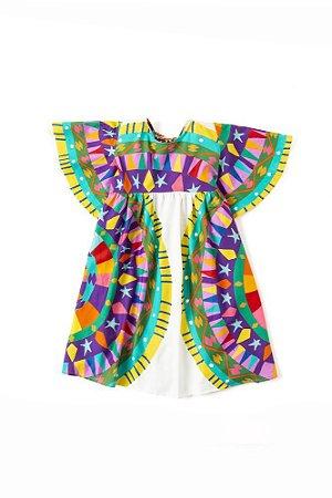 Vestido Fábula Barilete Colorido