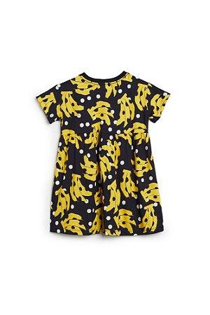 Vestido Fábula Malha Bananola Preto