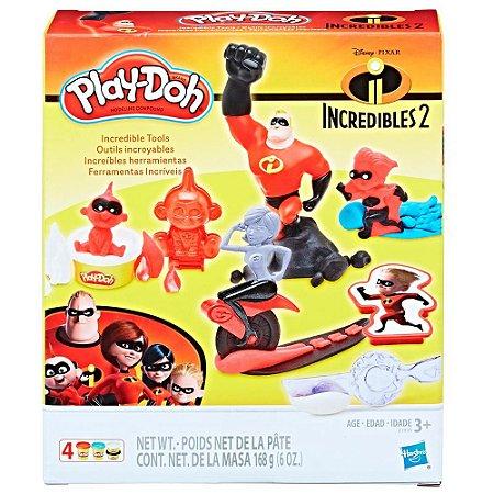 Massinha Play-Doh Os Incríveis - Hasbro