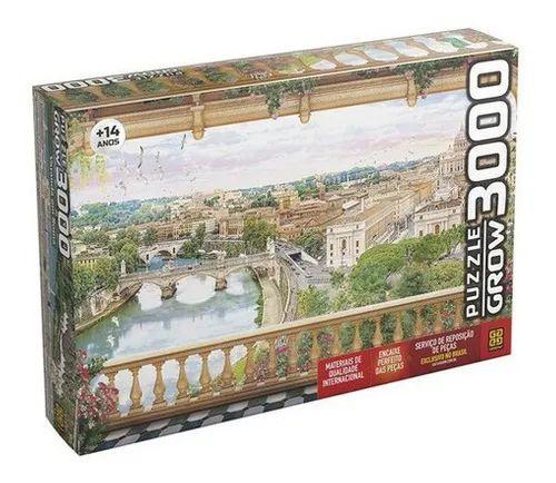 Quebra-Cabeça Puzzle Grow 3000 peças Varanda em Roma