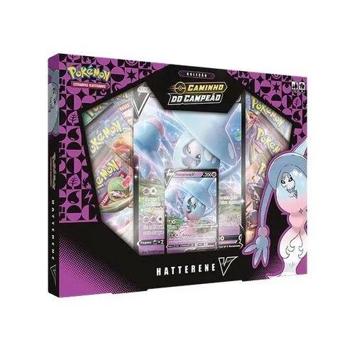Box de Cartas Pokémon Hatterene V