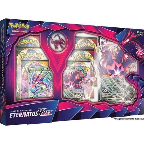 Box de Cartas Pokémon Eternatus V