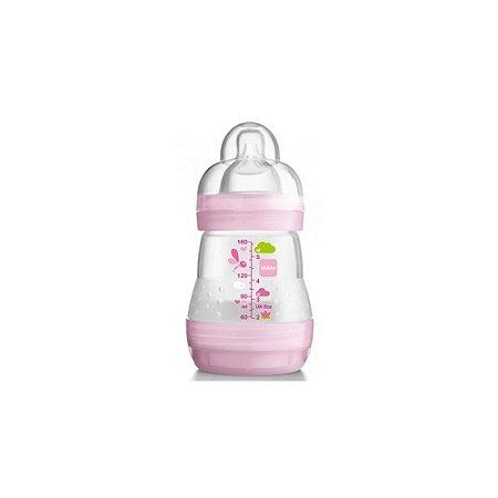 Mamadeira First Bottle 160ml MAM Rosa