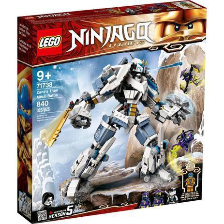 LEGO Ninjago O Combate do Robô Titã de Zane