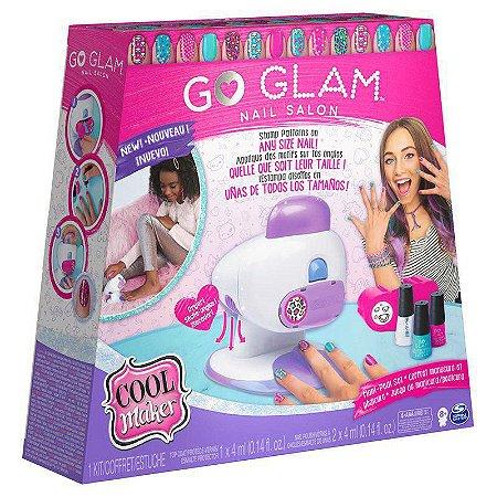 Go Glam Deluxe Nail Kit Stamper - Sunny 2133