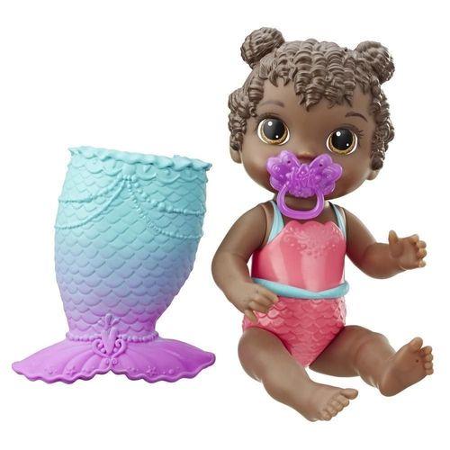 Boneca Baby Alive Linda Cauda Negra Hasbro - E5852