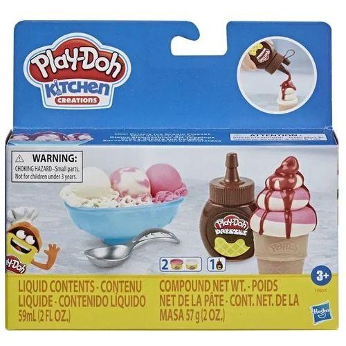 Massinha Play-Doh Kit Cobertura Sorvete Drizzle - F0654 Hasbro