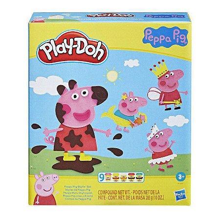 Massinha Play-Doh Contos Da Peppa Pig - Hasbro