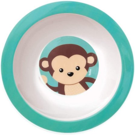 Pratinho Bowl Buba Animal Fun Macaco Verde