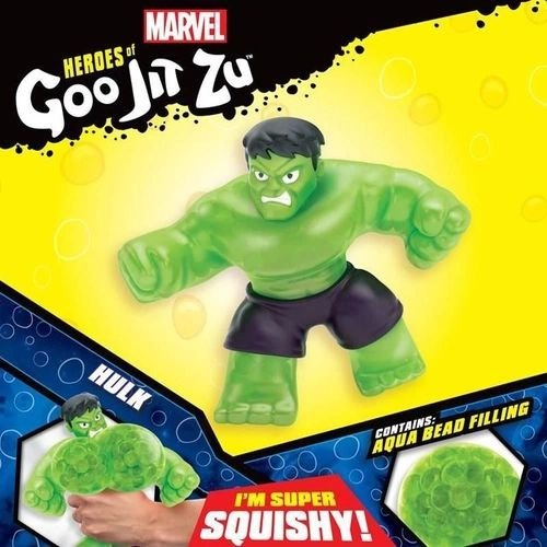 Goo Jit Zu  Hulk - Pack com 1 Figura