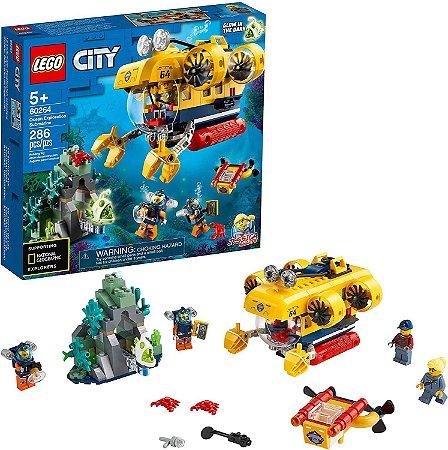 LEGO City Submarino de Exploração do Oceano