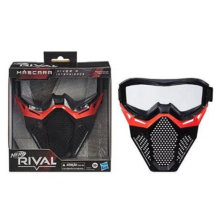 Máscara De Proteção Nerf Rival AC Hasbro Vermelha -B1590