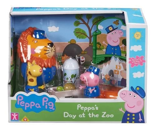 Peppa Pig Playset Zoologico