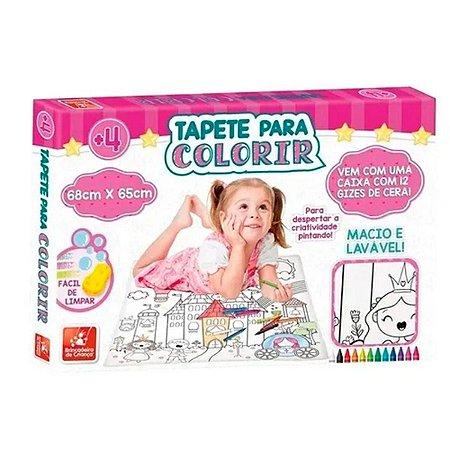 Tapete Para Colorir Princesas Brincadeira de Criança