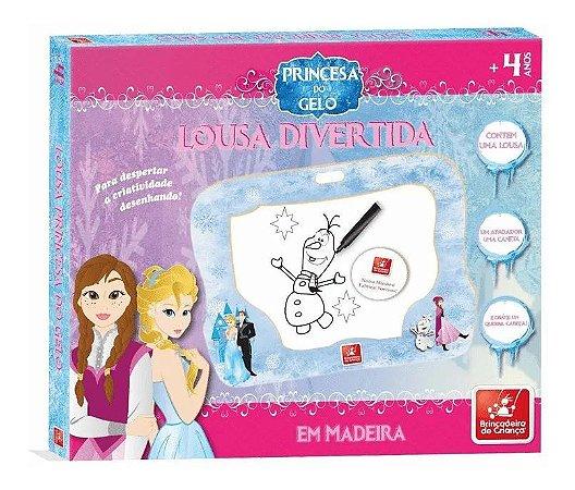 Lousa Princesa do Gelo Brincadeira de Criança