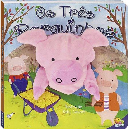 Livro de Fantoches e Contos: Os Três Porquinhos