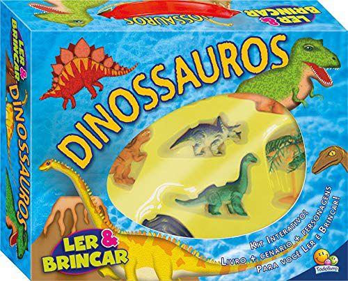 Livro Ler & Brincar: Dinossauros