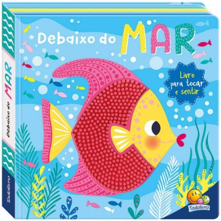 Livro Na Ponta dos Dedos: Debaixo do Mar