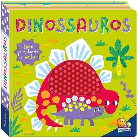 Livro Na Ponta dos Dedos: Dinossauros