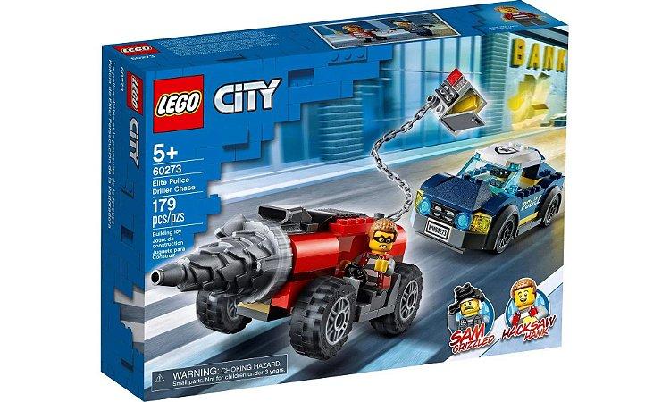 LEGO City Polícia de Elite: Perseguição de Carro Perfurador