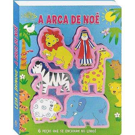 Livro Leia e Brinque: A Arca de Noé