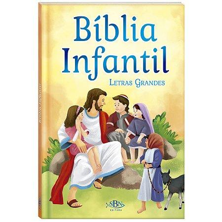 Bíblia Infantil com Letras GRANDES