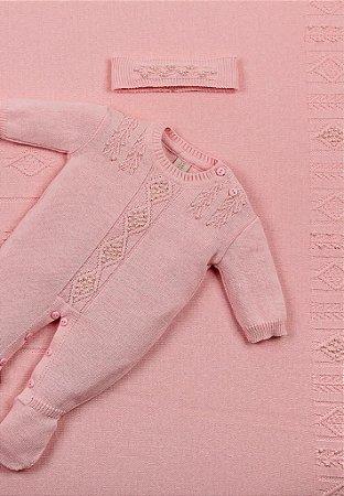 Conjunto Saída de Maternidade Rosa 20007