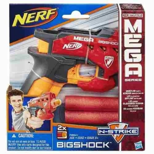 Lançador Nerf Mega Bigshock Hasbro - A9314