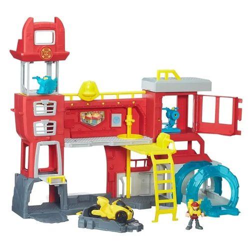 Conjunto Transformers Rescue Bots Quartel Dos Bots
