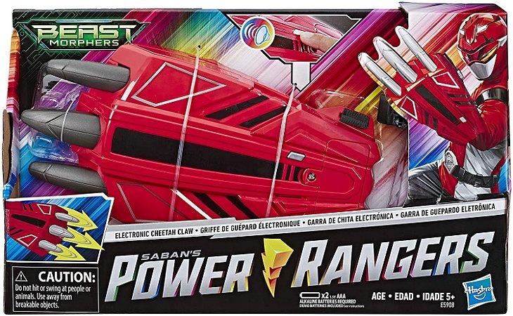 Luva Power Rangers Cheetah Hasbro - E5908