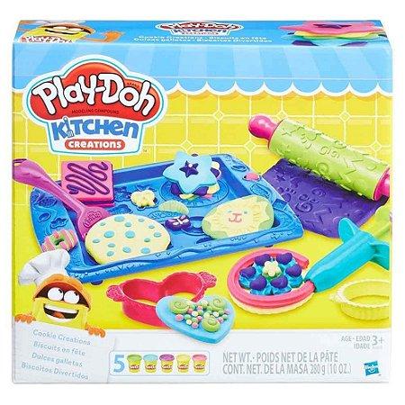 Massinha Play-Doh Biscoitos Divertidos - B0307 Hasbro