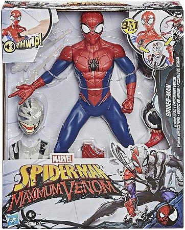 Boneco Marvel Spider Man com Poderes de Venom Hasbro - E7493