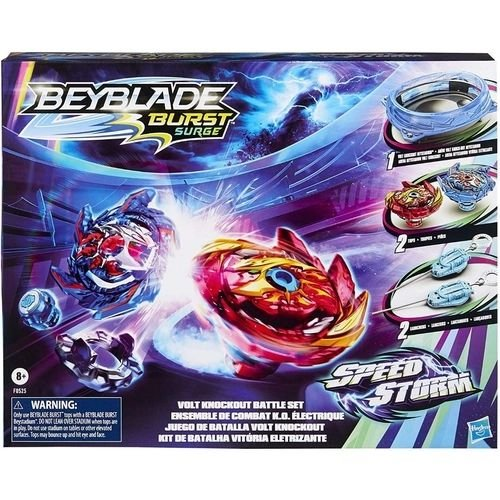 Beyblade Burst Surge Arena Speedstorm Beystadium Kit de Batalha Vitória Eletrizante - Hasbro F0525