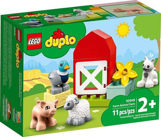 LEGO DUPLO Cuidando dos Animais da Fazenda