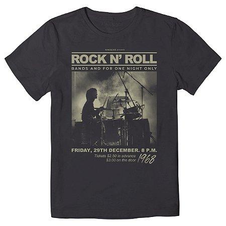 Camiseta Infantil King&Joe RocK N'roll CA02012K