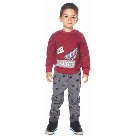 Conjunto de Moletom Infantil Blusão Fechado - Have Fun 24056