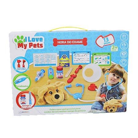 I Love My Pets Hora do Exame - Multikids BR1216