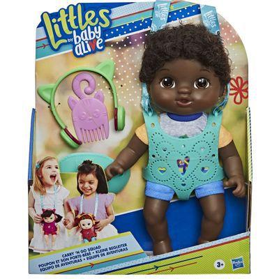 Boneca Baby Alive Littles Turma Estilosa Negra - E6646