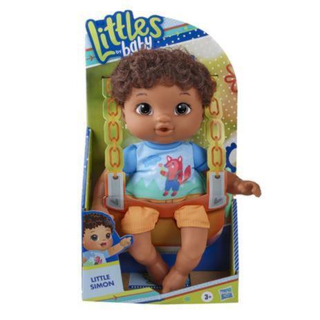 Boneca Baby Alive Littles Turminha Estilosa Negra - E8407
