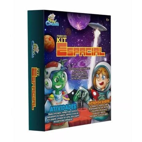 Hora da Ciência Primeiro Kit Espacial - Dican 5092