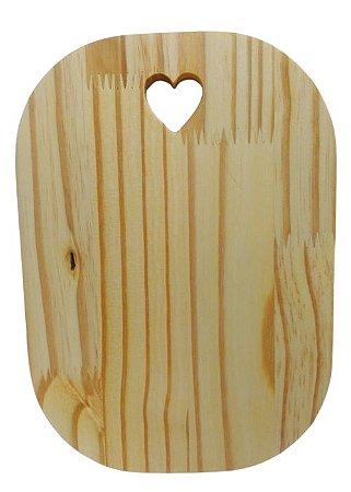 Tábua Decorativa Frios de pinus - Fofinha