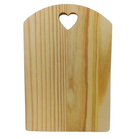 Tábua para servir frios petiscos em madeira pinus mesa posta