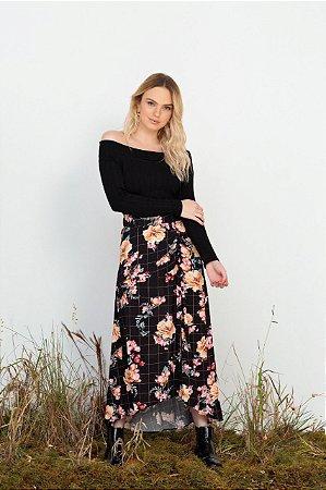 Saia Midi floral