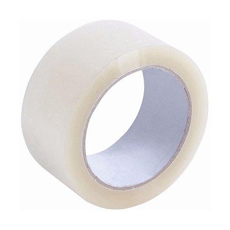 Fita adesiva polipropileno 45mm Transparente - Unidade