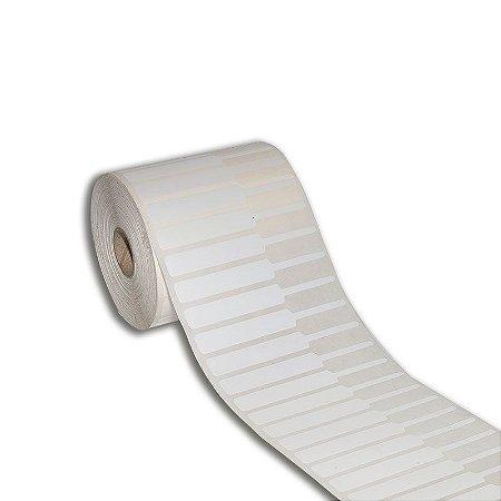 Etiqueta de jóias 95x12mm (alça direita) em BOPP adesivo para Zebra Argox Elgin - Rolo com 2000 (30m)