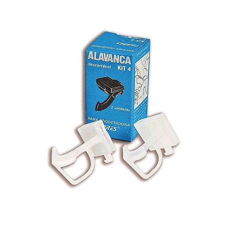 Kit 4 Alavanca para etiquetadora Torres Biônica