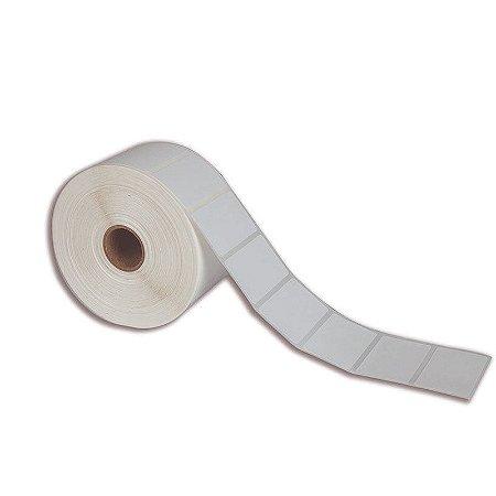 Etiqueta 60x30mm (1 coluna) Couché adesivo para Zebra Argox Elgin - Rolo com 909 (30m)
