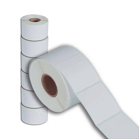 Etiqueta 40x40mm Térmica adesiva para Balança Toledo Filizola Urano - 6 rolos