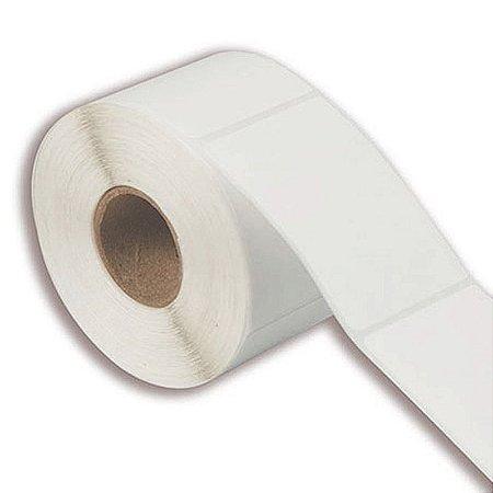 Etiqueta 100x150mm em Couché adesivo para impressora térmica industrial - Rolo com 392 (60m) Tubete 3 polegadas