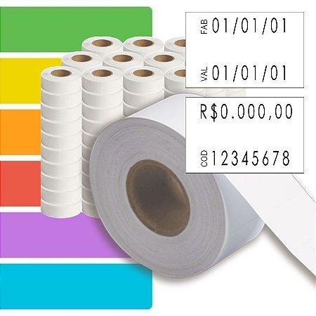 Etiqueta refil Etiquetadora Fixxar MX-2816 (28x16mm) - 120 rolos